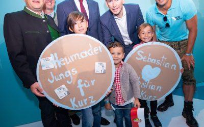 Erfolgreicher OÖ-Wahlkampf-Auftakt in Ried